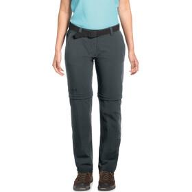 Maier Sports Nata 2 Spodnie z odpinanymi nogawkami Kobiety, graphite